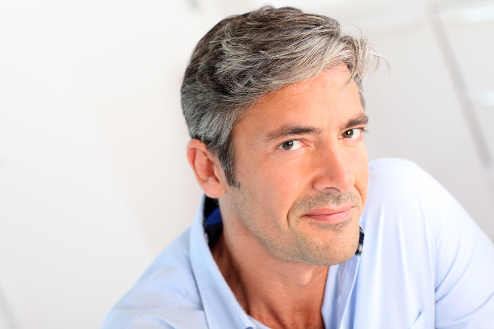 man with dermal fillers in Preston