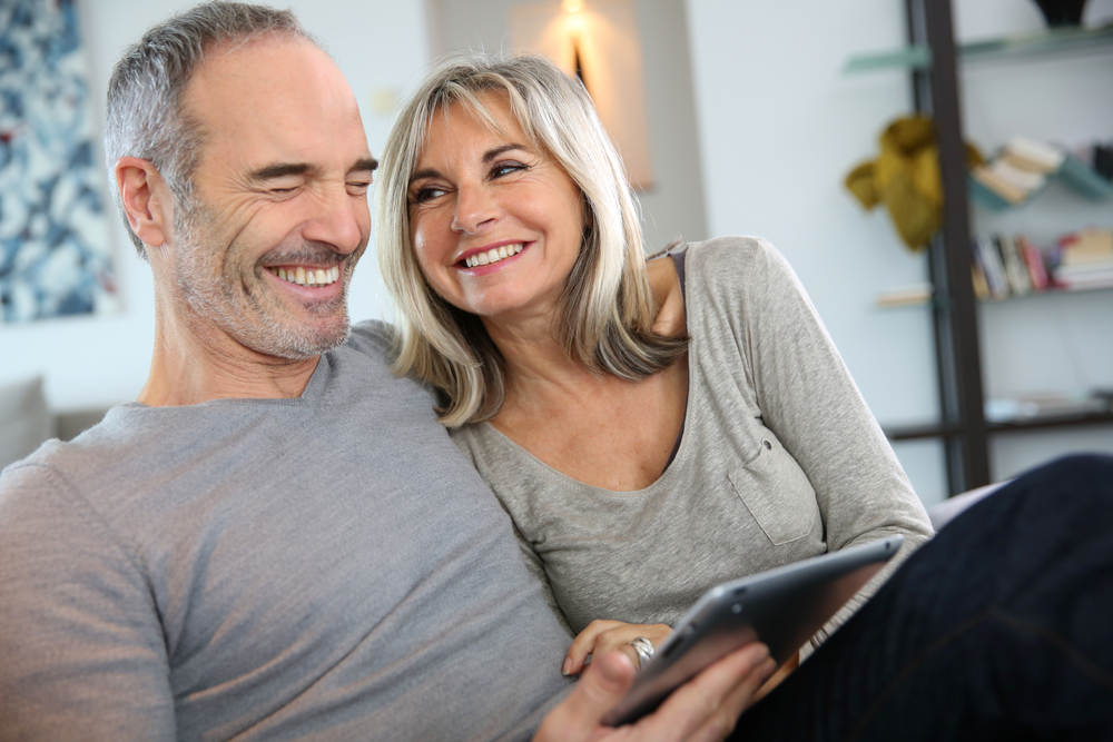 mature couple looking great after botox treament in Preston
