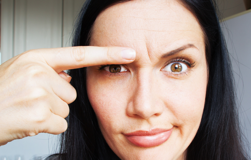 Which wrinkles are targeted by anti-wrinkle injections