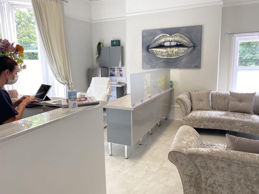 Aesthetics treatment room